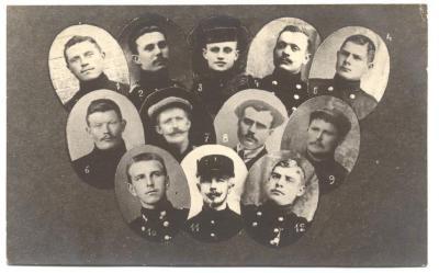 Strijders en opgeëisten 1914-1918 Semmersaeke