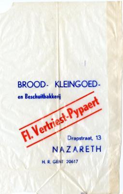 Beschuitbakker Vertriest-Pypaert