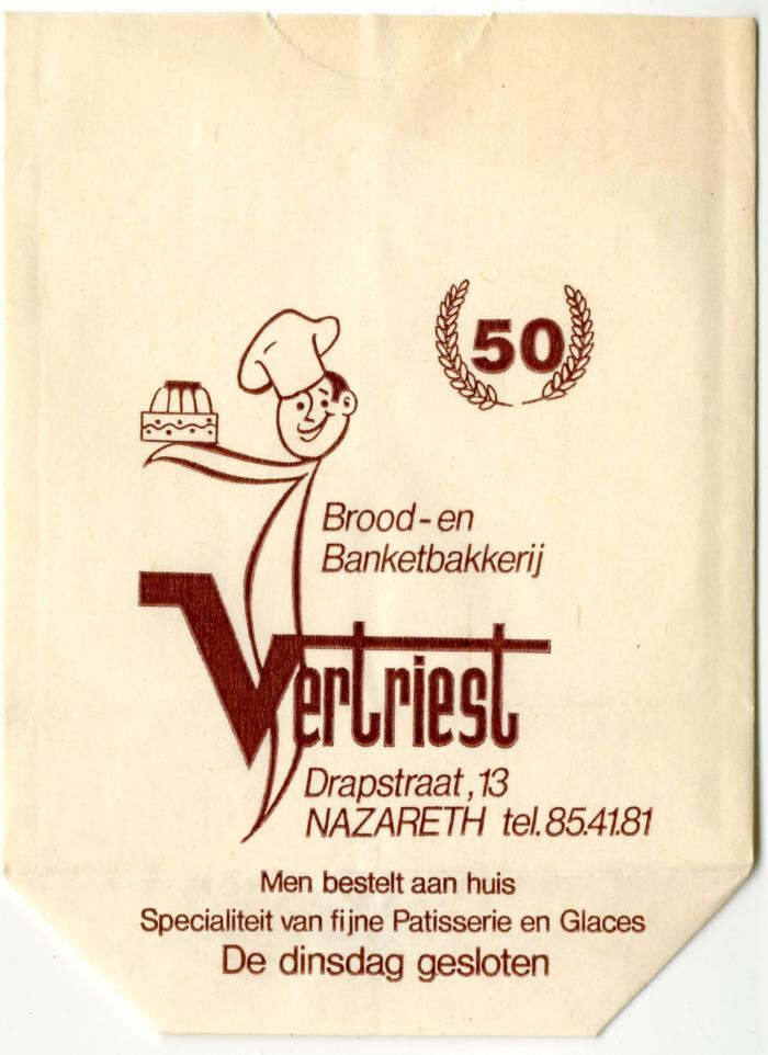 50 jaar Bakkerij Vertriest