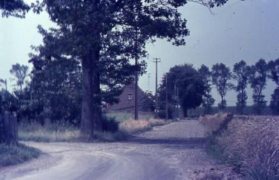 De plek waar de Marollestraat en Callemoeie in elkaar lopen