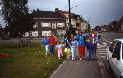 Op kamp in 1988 (5)