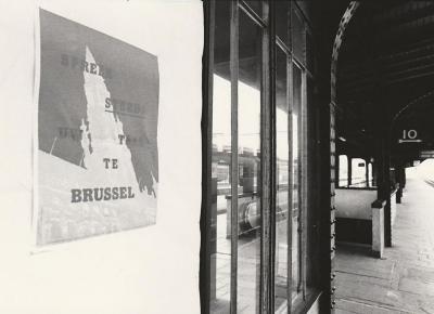 actie 'Spreek steeds je eigen taal te Brussel'