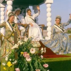Prins en Prinses Canteclaer in de stoet