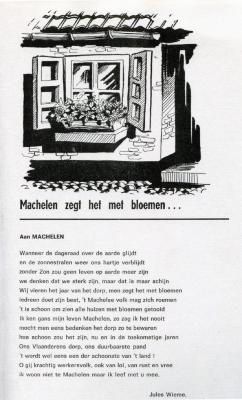 Gedicht over Machelen-aan-de-Leie