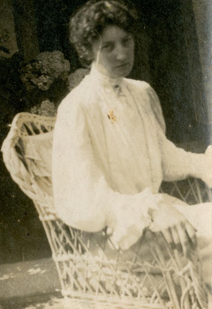Jenny Montigny voor de lens