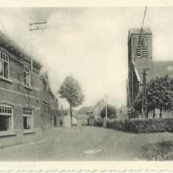 De kerk van Astene