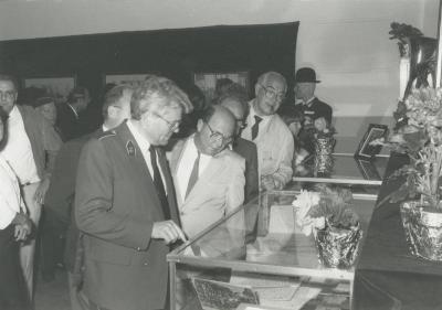 Opening tentoonstelling 125 jaar Fanfare Gavere