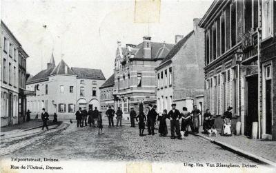 De Deinse Tolpoortstraat anno 1921