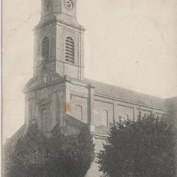 De kerk van Nazareth anno 1920