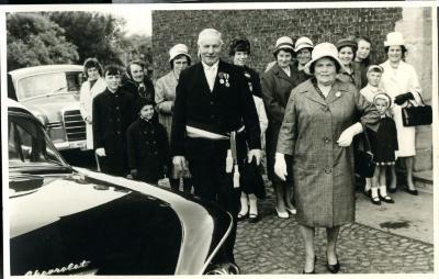 Eucharistieviering ter ere van de Petegemse burgemeester Adolf Haerens