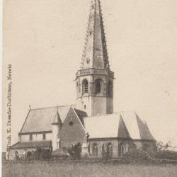 De oude kerk van Vosselare