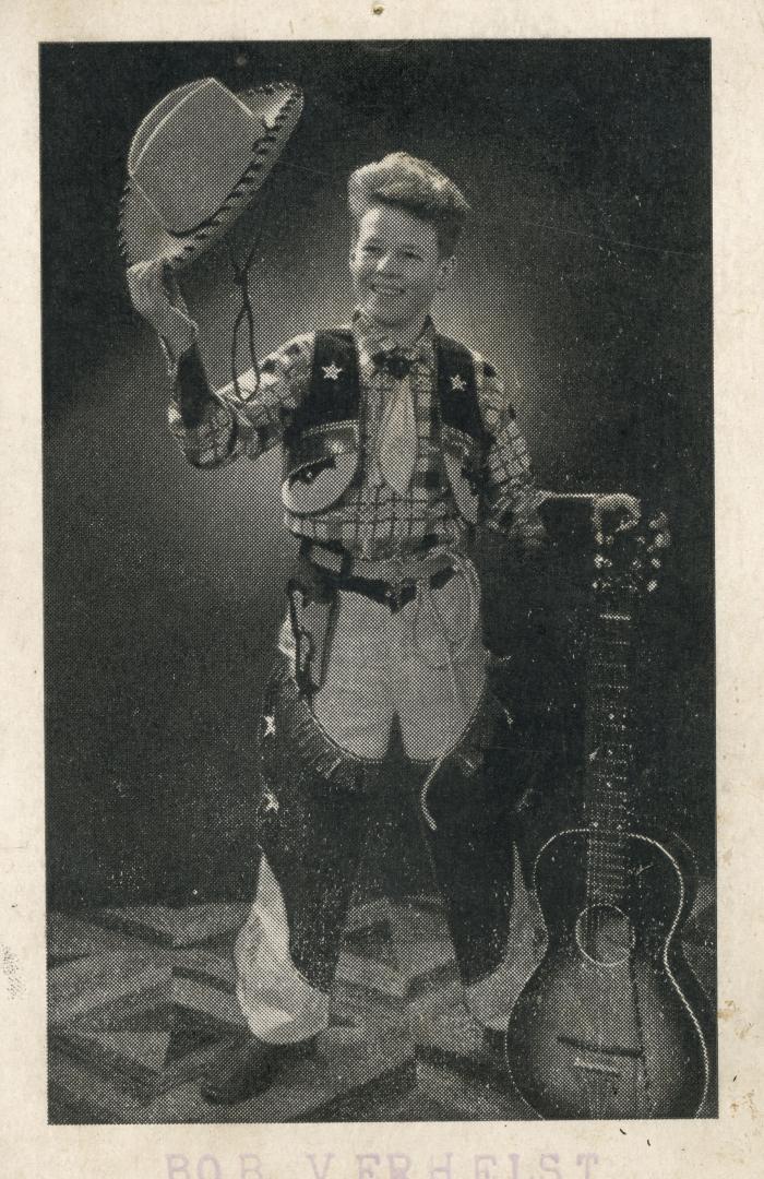 Bob Verhelst als cowboy