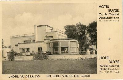 Hotel Buyse te Deurle