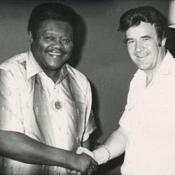 Bobby Setter en Fats Domino