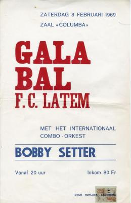 Affiche Gala-Bal F.C. Latem