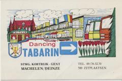 Reclame Dancing Tabarin