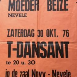 Affiche T-Dansant Moeder Beize