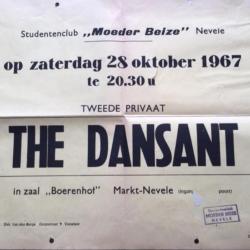 Affiche The Dansant Moeder Beize 1967