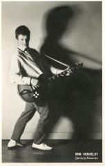 Bob Verhelst met gitaar