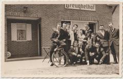De Nazarethse voetballers vieren feest in het Breughelhof