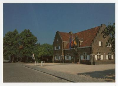 Het oude gemeentehuis van Sint-Martens-Latem