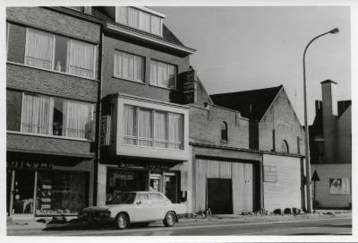 De Gentstraat ter hoogte van Studio Van Daele