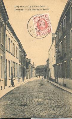 De Deinse Gentpoortstraat in de jaren 1920