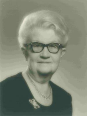 Portretfoto Irma Dhaenens