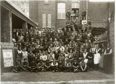 Groepsfoto personeel Torck-Hautekeete