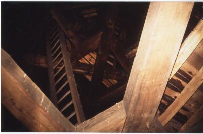 In de toren van de Olsense Sint-Pieterskerk