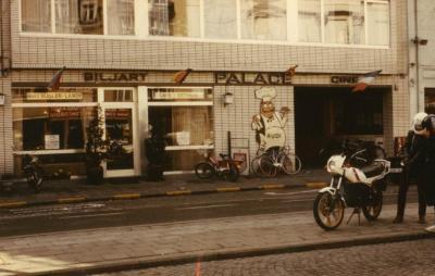 Voorgevel café Palace