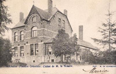 Villa Notaris Imschoot Machelen-oud gemeentehuis