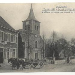 Kerk Dickelvenne na de renovatie van 1920