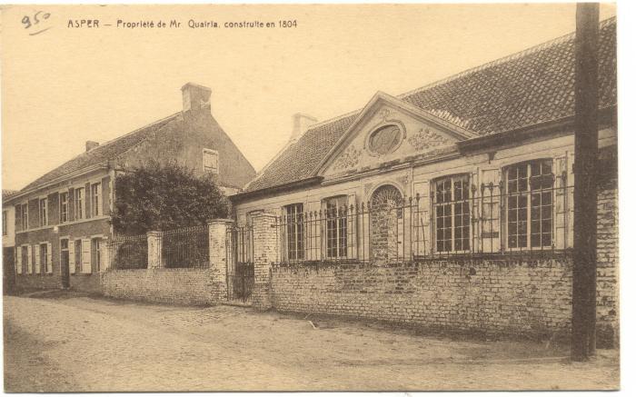 Herenhuis in de dorpskom van Asper (Propriété de Mr Qauiria)