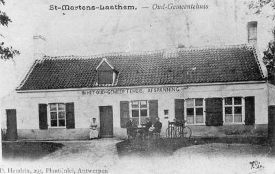 """Oud Gemeentehuis"", Sint-Martens-Latem"