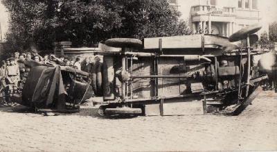 Auto-ongeluk in Olsene