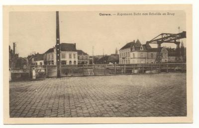 Algemeen zicht Schelde en brug