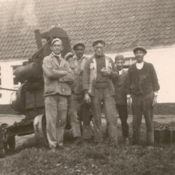 Steenbakkers : groep met Albert Naessens