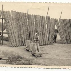Steenbakkers : bescherming van de oven tegen de wind