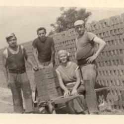 Steenbakkers : groep met Albert Van Assche, Semmerzake