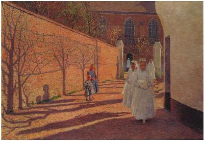 Machelen, De communicanten 1893