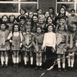 Groepsfoto Chiromeisjes 1970
