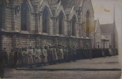 Deinze, Duitse troepen 1915