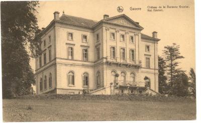 Zicht op het Château de la Baronne Grenier