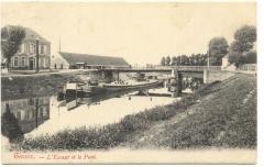 l'Escaut et le Pont - Gavere