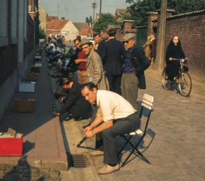 Machelen, vinkenzetting jaren '60