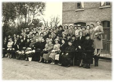 De KVLV van Zevergem  in de jaren 1950