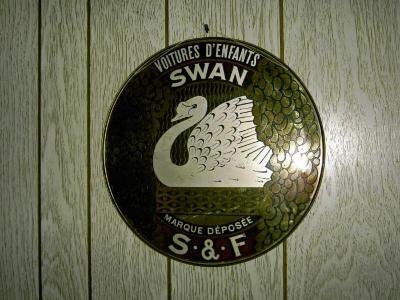Reclamebord Swan