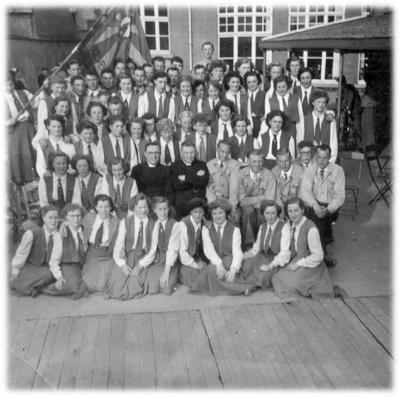 Groepsfoto van de KVLV Zevergem