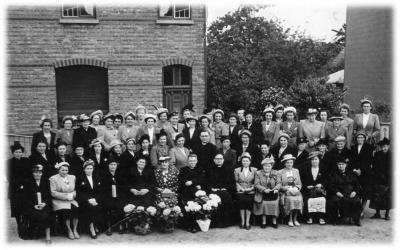 Veertig jaar KVLV Zevergem in 1952